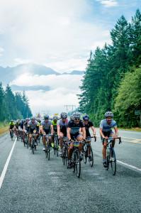 Racing to Whistler Photo: Den Sweeney