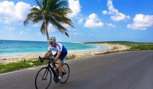 Ride along turquoise ocean water
